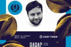 Easy Tiger serijal 25. avgusta na Disko Splavu Sloboda
