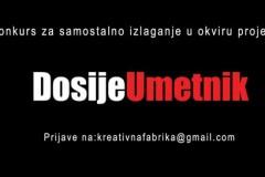 Konkurs za samostalne izložbe u okviru projekta DosijeUmetnik