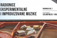Radionica eksperimentalne i improvizovane muzike br.2