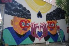 Francuska street art umetnica KASHINK u Srbiji