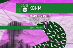 Marko Nastić u tropskoj KPTM bašti