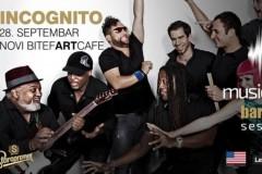 Incognito otvara novu sezonu Musicology Barcaffè Sessions
