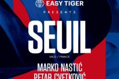 Nastićev rođendanski party u septembarskoj ediciji Easy Tiger serijala na Disko Splavu Sloboda!