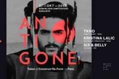 Antigone u Sarajevu i Beogradu krajem oktobra