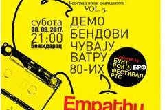 Koncert demo bendova pobednika Bunt rok festivala