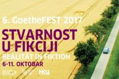 REALNOST U FIKCIJI: VI GoetheFEST od 6. do 11. oktobra u Dvorani KCB-a