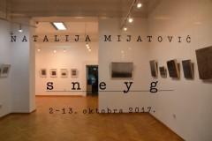Otvorena izložba Natalije Mijatović - ''Sneyg'' u Nacionalnoj galeriji