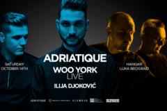 Ilija Djoković otvara vrata žurke Adriatique i Woo York 14. oktobra u Hangaru