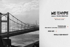We Are The Hype presents Techno Marathon