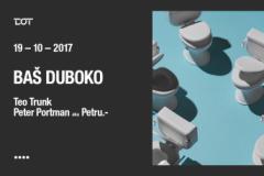 PETER PORTMAN I TEO TRUNK 19. 10. U KLUBU DOT!