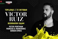 Vodimo vas na najveće jesenje Topljenje sa Victorom Ruizom!