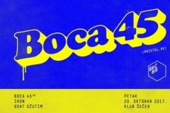 Boca 45 (Bristol, UK) @ Klub Šećer