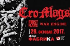 Cro-Mags prvi put u Srbiji!