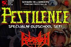 Serbian Hellbangers predstavlja: PESTILENCE + Rebaelliun + Violentor
