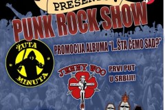 Streetriffs presents: Punk Rock Show u Božidarcu