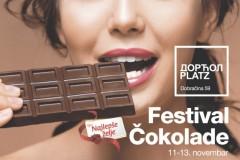 Čokoholičari imaju razloga da se raduju, jer se u Beogradu organizuje prvi Festival Čokolade Najlepše želje!