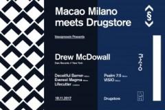 Drew McDowall i Edit Select kao gosti 18. novembra u Dragstoru