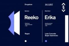 REEKO i ERIKA,  Barselona i Detroit 24. novembra u Dragstoru