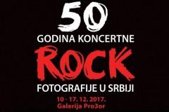 Izložba 50 godina koncertne ROCK fotografije u Srbiji