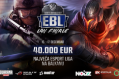 FINALNA SERIJA ESPORTS BALKAN LIGE U IGRAMA CS:GO i LEAGUE OF LEGENDS NA BEOGRADSKOM SAJMU OD 15. DO 17. DECEMBRA