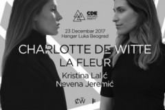 Blender di džej pult po prvi put ugošćava Charlotte De Witte i Le Fleur