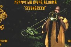 """Koncertna promocija albuma """"Sevengreen"""""""
