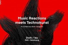 Music Reactions meet Technokunst