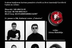 Humanitarna predstava Živeti ili ne živeti u Beogradu