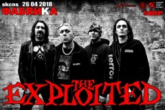 Legendarni bend The EXPLOITED u Novom Sadu