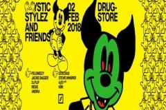 Mystic Stylez i prijatelji u Dragstoru