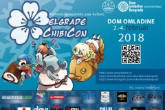 ChibiCon 2018: Konvencija japanske pop - kulture