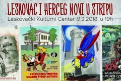 Herceg Novi i Leskovac - pobratimi po stripu!