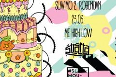 Slavimo umetnost rođendan  @ Štrafta