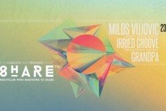 Milos Vujovic, Irried Groove & Grandpa @Klub SHARE