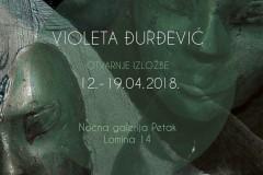 Udruženje Kreativna fabrika u okviru projekta DosijeUmetnik predstavlja izložbu Violeta Đurđević