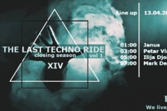 The last techno ride /vol 1. @MINT