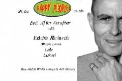 Happy People vas poziva na Happy Evil After Kurafter @ Ben Akiba White Lounge