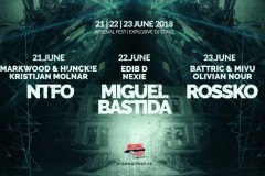Arsenal Fest kompletirao EXPLOSIVE DJ STAGE