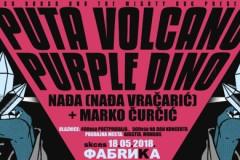 Nađa domaćin za Puta Volcano i Purple Dino u Novom Sadu