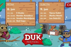 Četvrti DUK festival održaće se 8. i 9. juna u Parku Mladosti u Čačku
