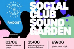 Social Club Sound Garden / Jun 2018.