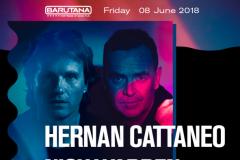 Ekskluzivni b2b di-džej set Hernan Cattaneo i Nick Warren u Barutani