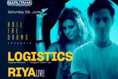 Roll the Drums presents: Logistics / Riya live!