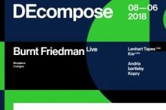 DEcompose: Burnt Friedman predstavlja nemačku scenu elektronske muzike u Drugstore-u