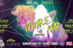 ECHO ONE presents: HUMANITARNA ZURKA NEED MORE HP
