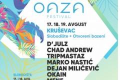 Prvi Oaza festival u Kruševcu