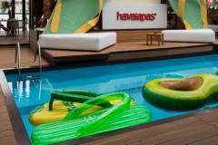 Leto nam stiže sa Havaianas! Beogradski Havaianas party održan juče na splavu Hot Mess