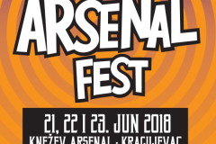 Počinje Arsenal Fest 08 u Kragujevcu!