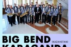 Besplatan koncert Big benda Karaganda (Kazahstan) u Domu omladine Beograda