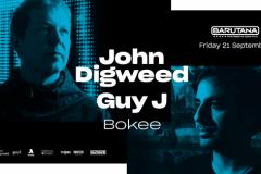 John Digweed i Guy J u Barutani
